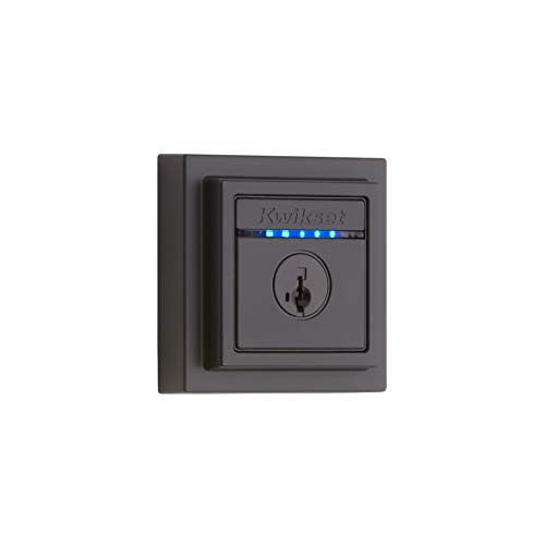 Kwikset 99250-207 Kevo Contemporary Touch-to-Open Bluetooth Smart Square...