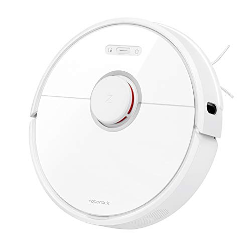 Roborock S6 Robot Vacuum, Robotic Vacuum Cleaner and Mop with Adaptive...
