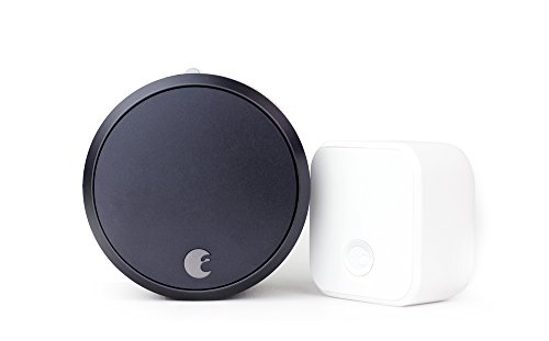 August Smart Lock Pro (3rd Gen) + Connect Hub - Zwave, Home Kit & Alexa...