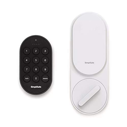 SimpliSafe Smartlock (White) - Compatible with SimpliSafe Home Security...