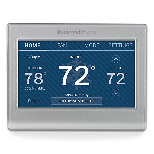 Honeywell Home RTH9585WF1004 Wi-Fi Smart Color Thermostat, 7 Day...