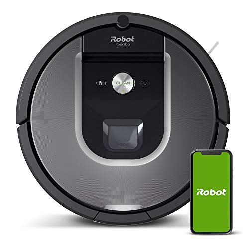iRobot Roomba 960 Robot Vacuum- Wi-Fi Connected Mapping, Works with Alexa,...