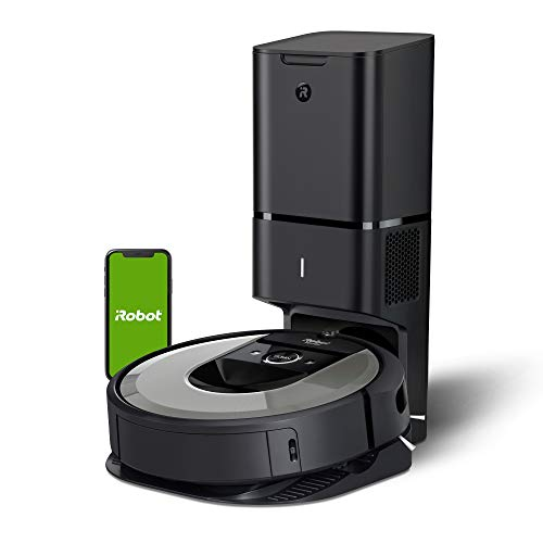 iRobot Roomba i6+ (6550) Robot Vacuum with Automatic Dirt Disposal-Empties...