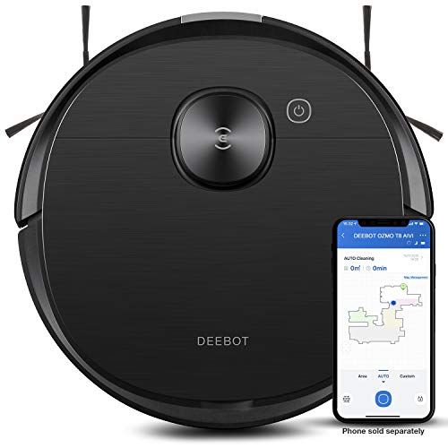 Ecovacs Deebot T8 AIVI Robot Vacuum Cleaner, Vacumming and Mopping in...