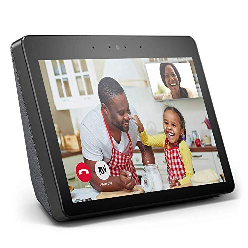 "Echo Show (2nd Gen) | Premium 10.1"" HD smart display with Alexa – stay..."
