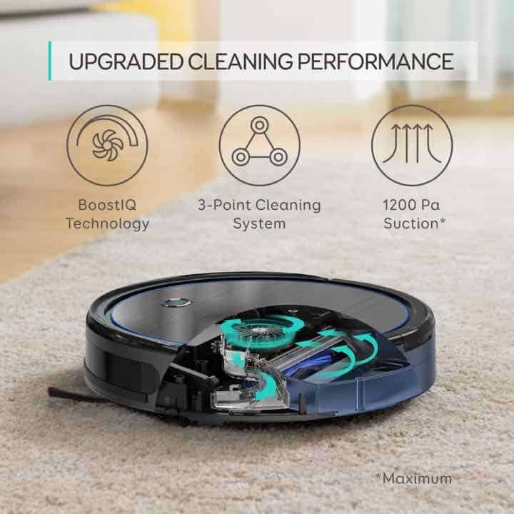 eufy boostiq robovac 11c black anker upgraded cleaning