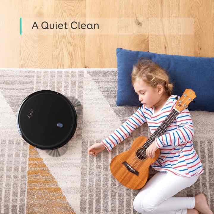 eufy boostiq robovac 11s slim black anker quiet cleaning