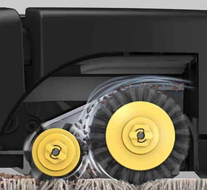 iRobot Roomba 675 patented Dual Brush Rollers is great for Carpets