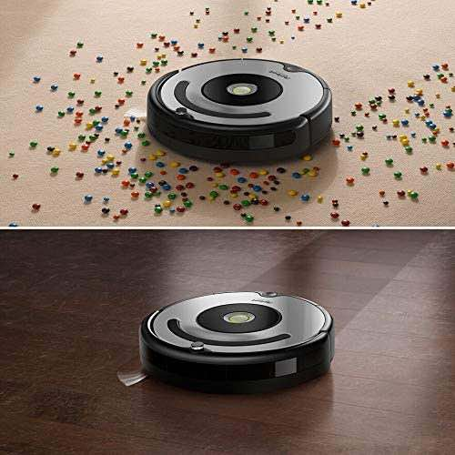 iRobot Roomba 677 Cleans well on both hardwood floors and carpet