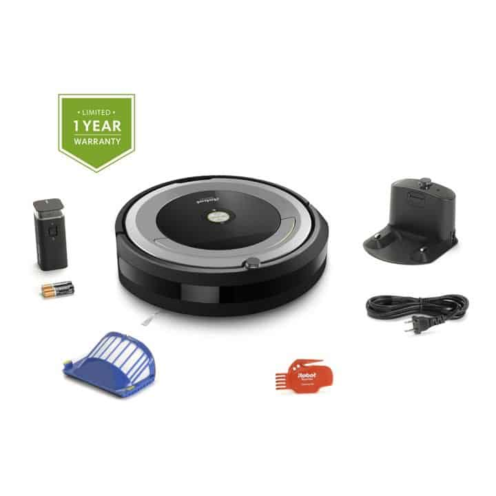 iRobot Roomba 690 Package and Accessories with one Virtual Wall Device