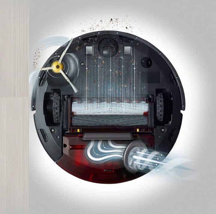 iRobot Roomba 960 Suction Power is 5x compared to the 600 series