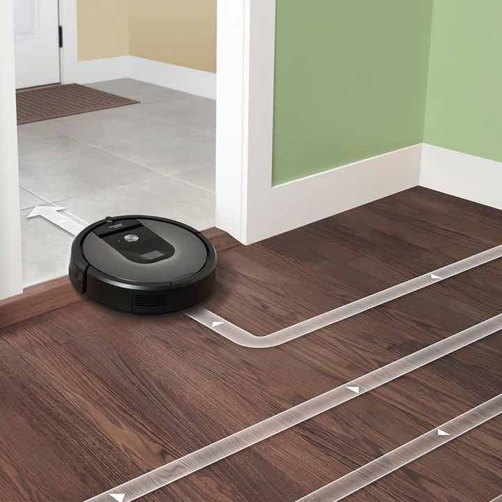 iRobot Roomba 960 uses iAdapt 2.0 Technology for Navigation and Mapping