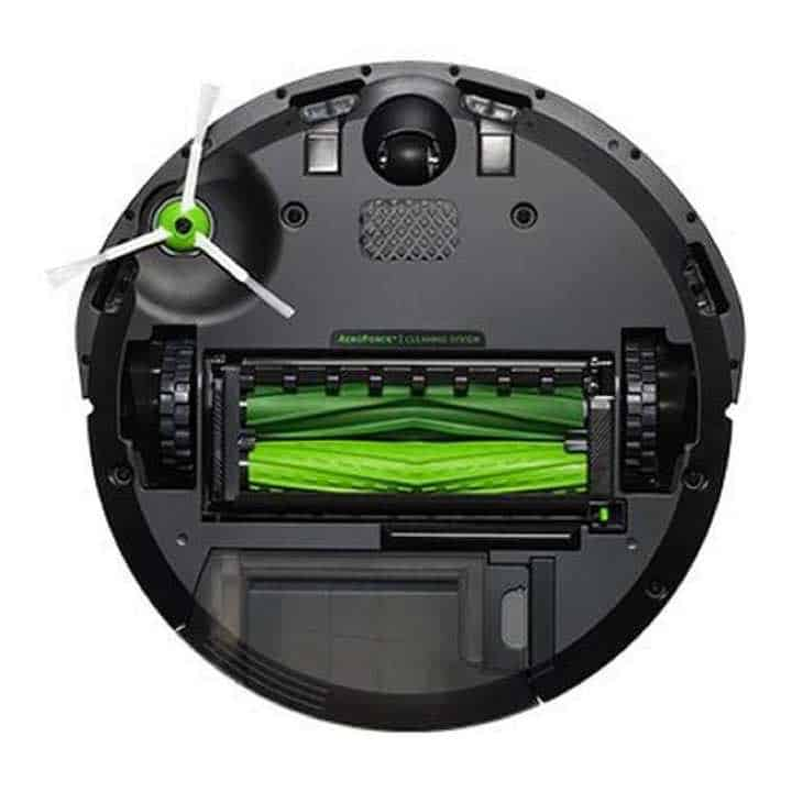 iRobot Roomba e5 is has dual rubber brush rollers.