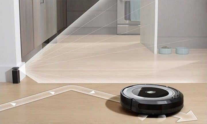 iRobot Roomba Virtual Wall Barrier that stops the Roomba from Entering an area