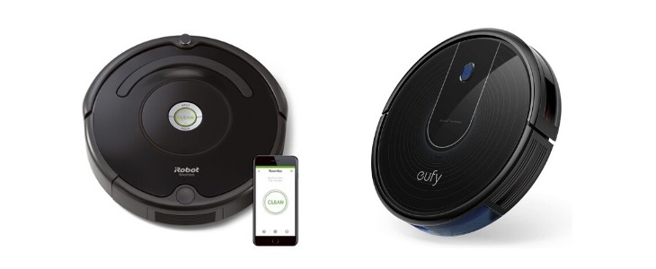 iRobot Roomba 675 vs eufy Robovac 11s