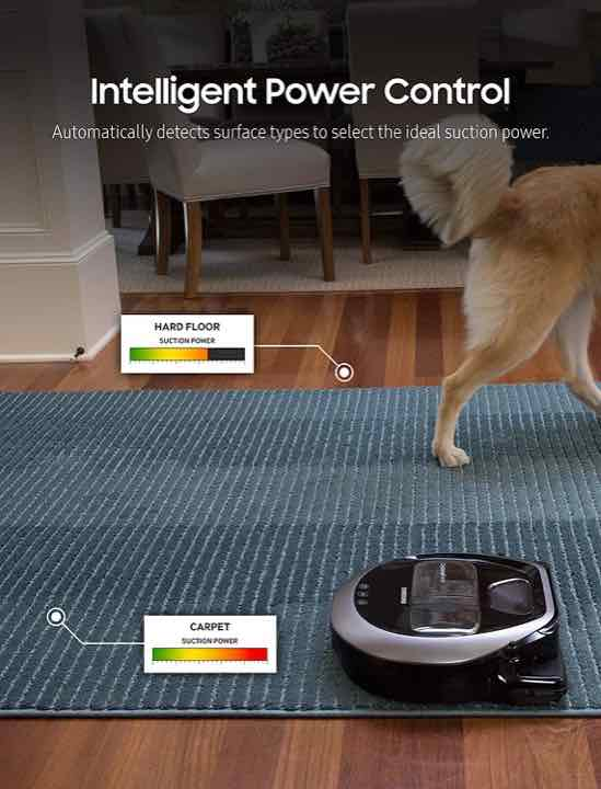 Samsung POWERbot R7040 Intelligent Power Control