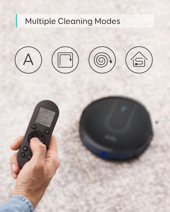 eufy boostiq robovac 12 cleaning modes
