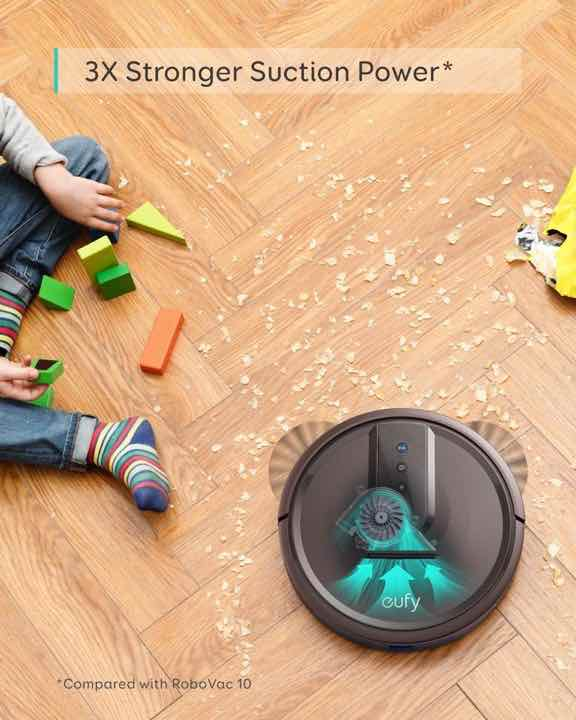 eufy Robovac 15T Strong Suction Power