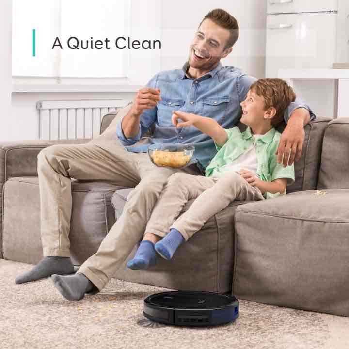 eufy BoostIQ Robovac 30 Quiet Cleaning