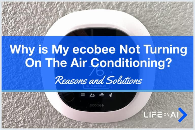 Why is my ecobee Not Turning on the AC Air Conditioning?