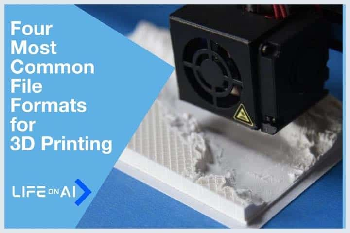 Four Most Common File Formats for 3D Printing