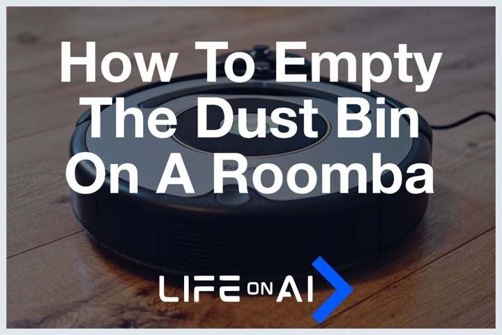 How to Empty Roomba Dustbin