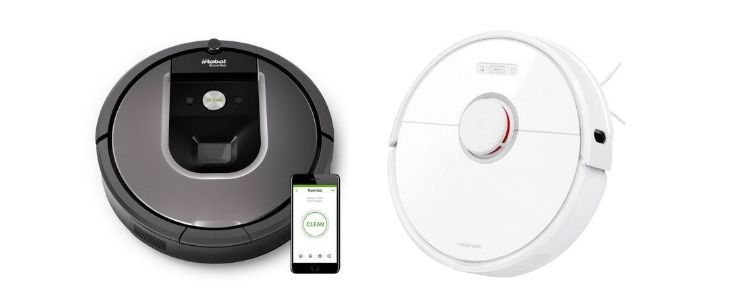 Roborock S6 vs Roomba 960 iRobot Comparison