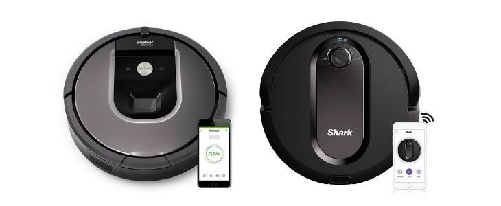 iRobot Roomba 960 vs Shark IQ Vacuum