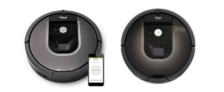 iRobot Roomba 960 vs Roomba 980